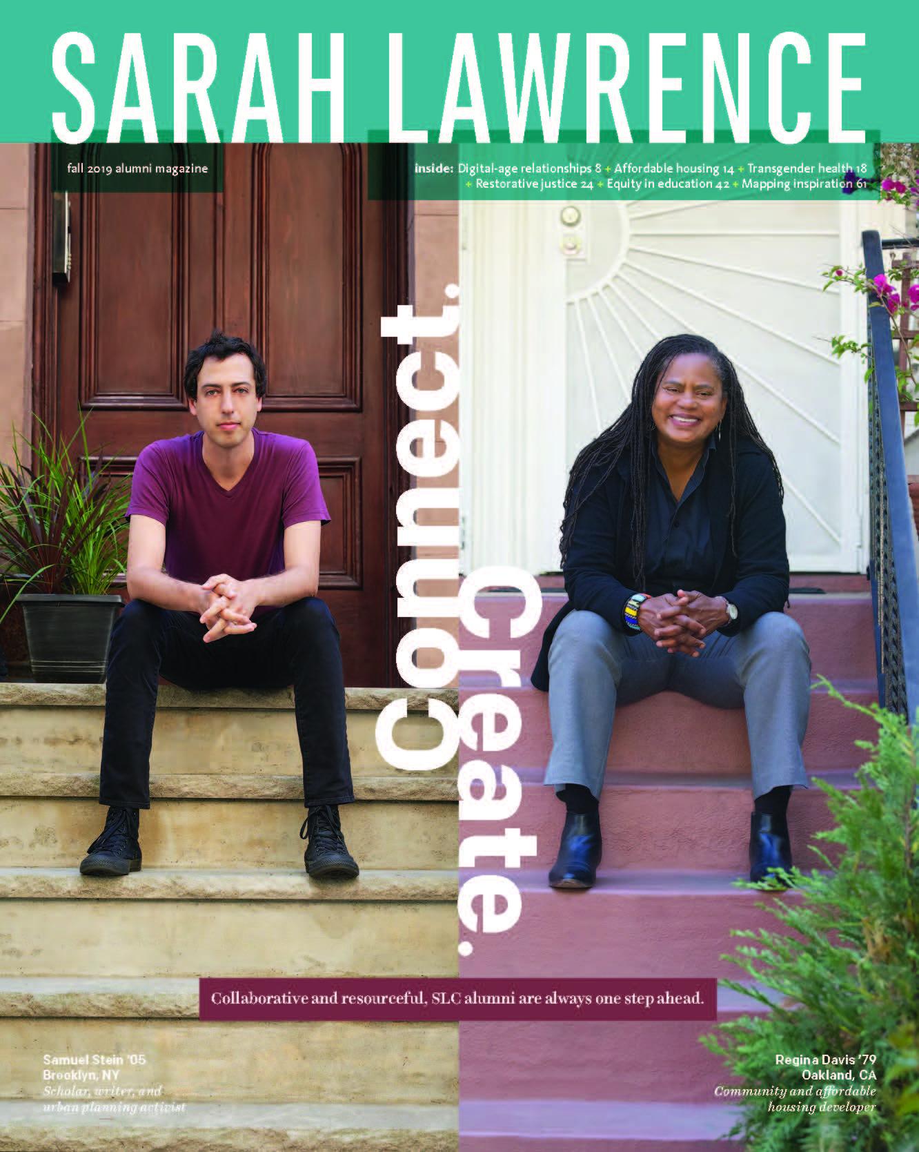 Sarah Lawrence magazine Fall 2019
