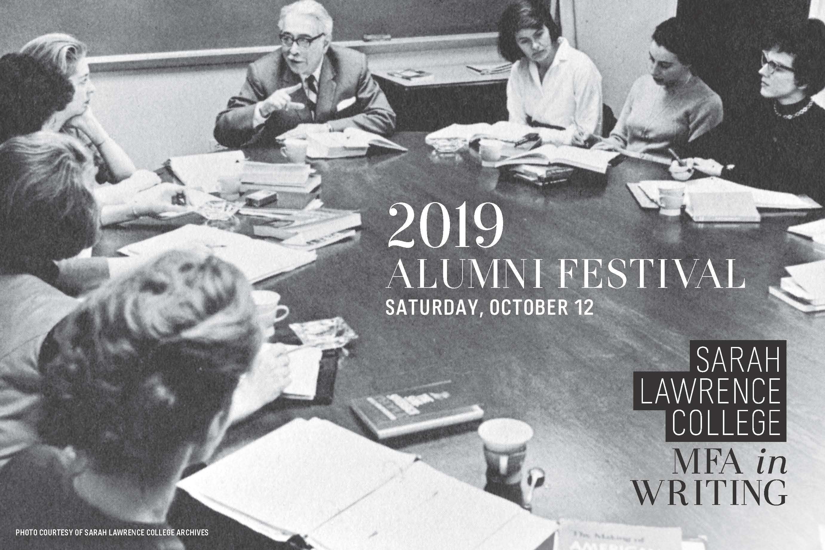 MFA Writing Alumni Festival