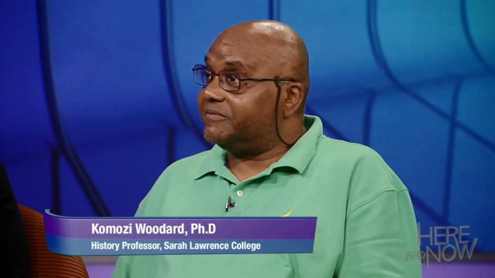 Komozi Woodard (History) on Here and Now