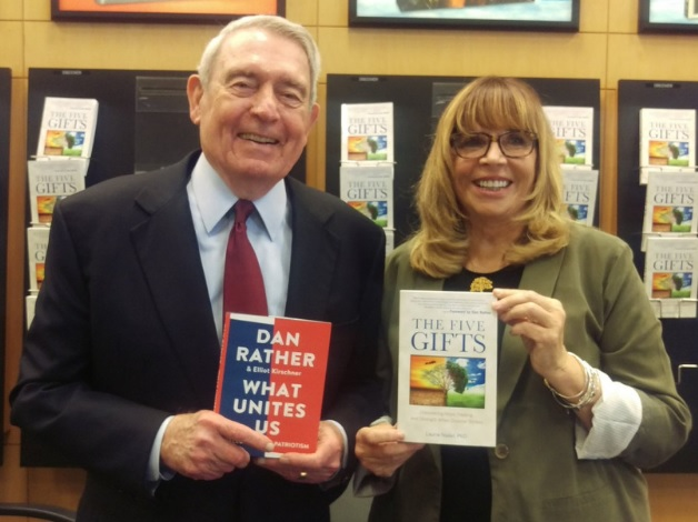 Laurie Nadel '69 and Dan Rather