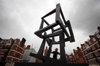Jedd Novatt Sculpture Chaos Mundaka